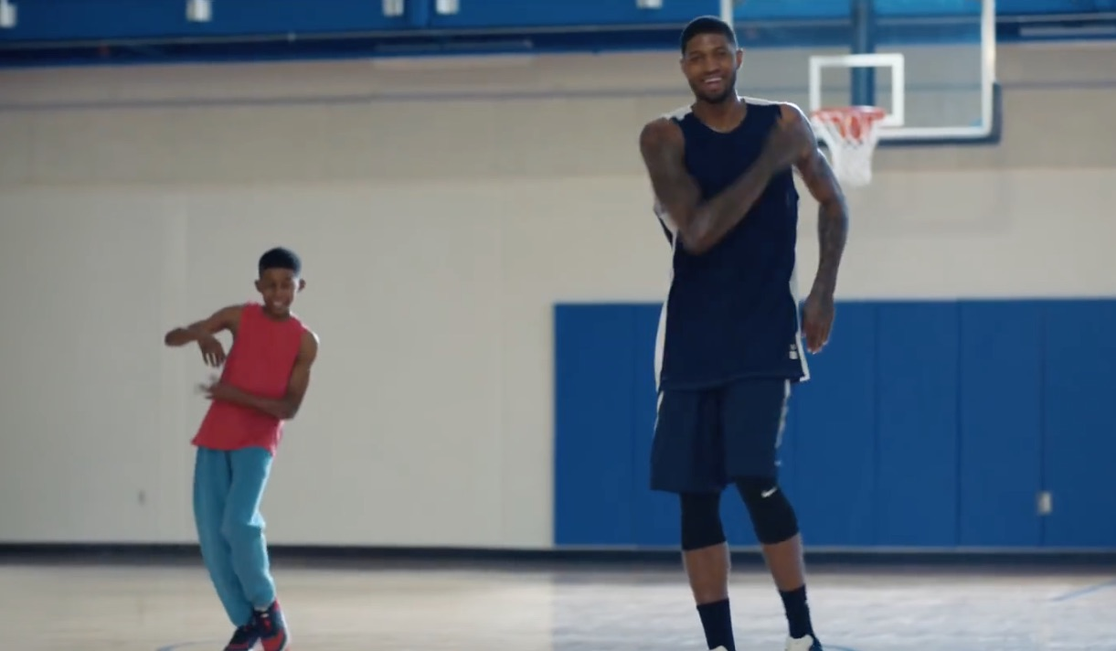 Paul George included in new Gatorade ad campaign c57be6df9694