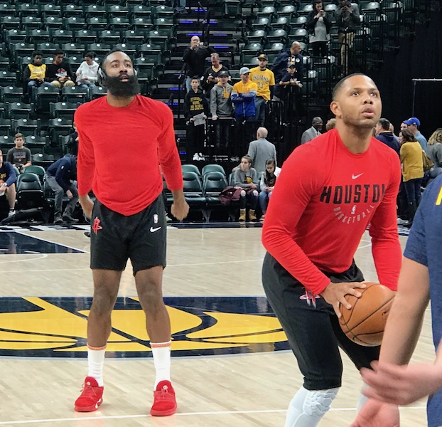 Houston Rockets Depth Chart: Running Thoughts: Rockets 118, Pacers 95